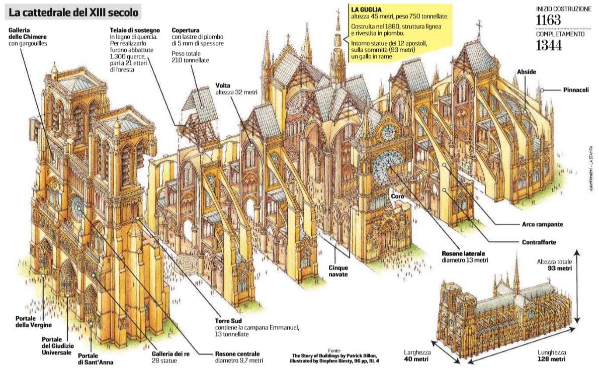 cattedrale di notre-dame 1