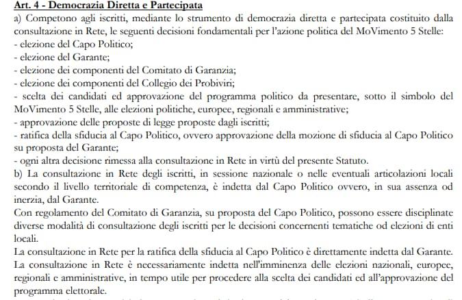 di maio statuto democrazia diretta coerenza scelta candidati - 1