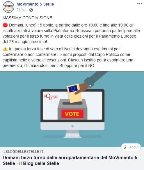di maio statuto democrazia diretta coerenza scelta candidati - 5