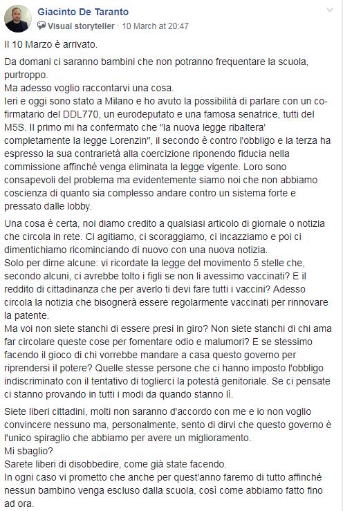 giacinto de taranto vaccini rousseau europarlamentarie espulsione - 10