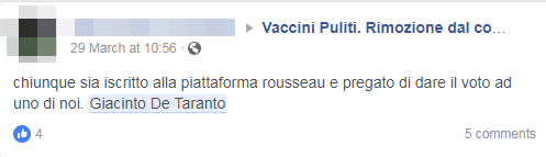 giacinto de taranto vaccini rousseau europarlamentarie espulsione - 11