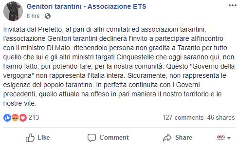 luigi di maio immunità penale ilva - 5