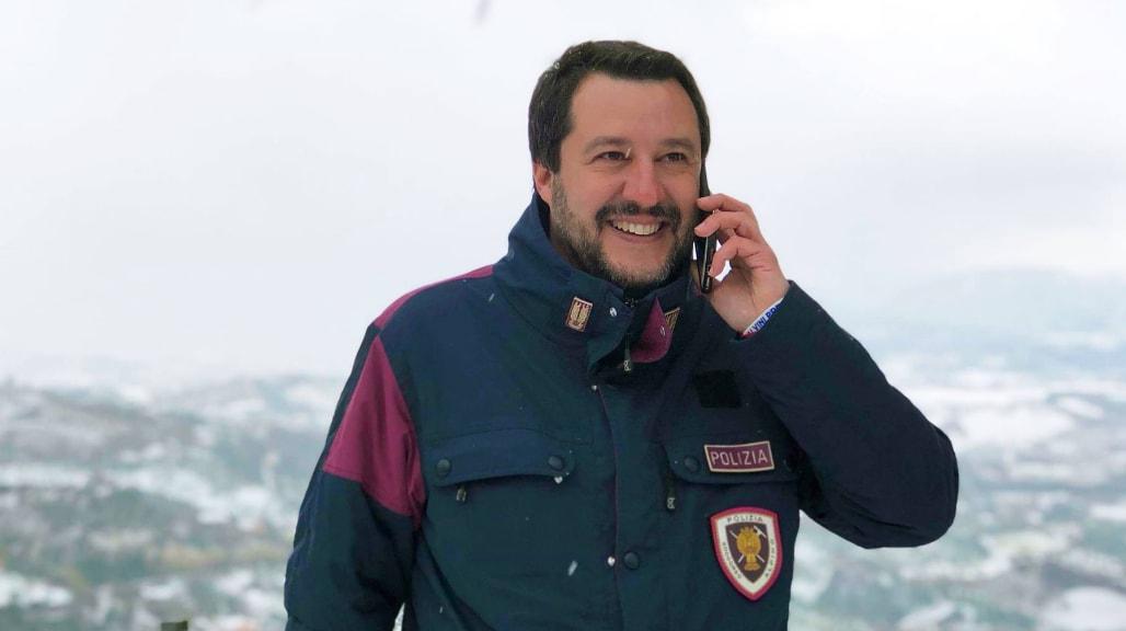 salvini denuncia askatasuna fascista vilipendio - 5