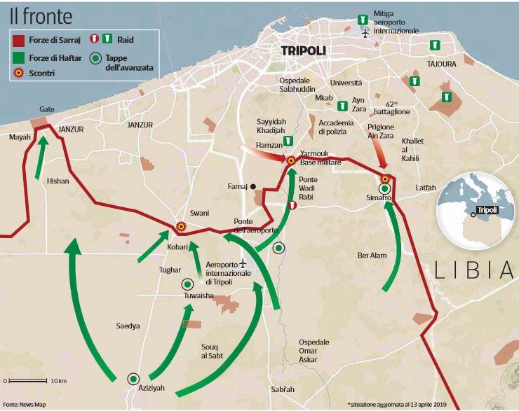 seimila profughi libia