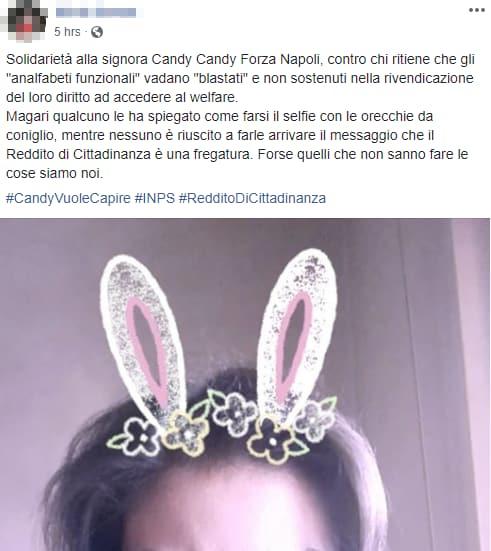 solidarietà candy candy forza napoli - 2