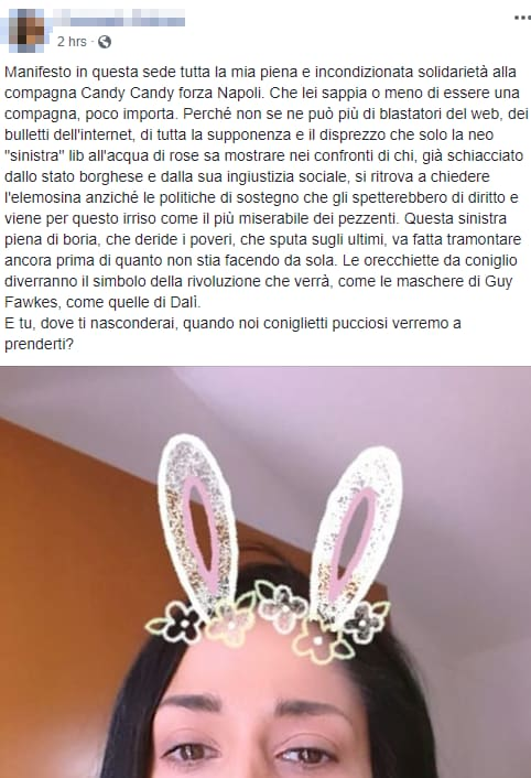 solidarietà candy candy forza napoli - 3