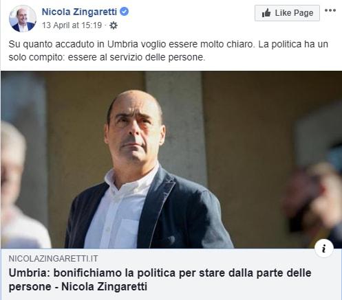 zingaretti catiuscia marini umbria concorsi truccati pd - 3