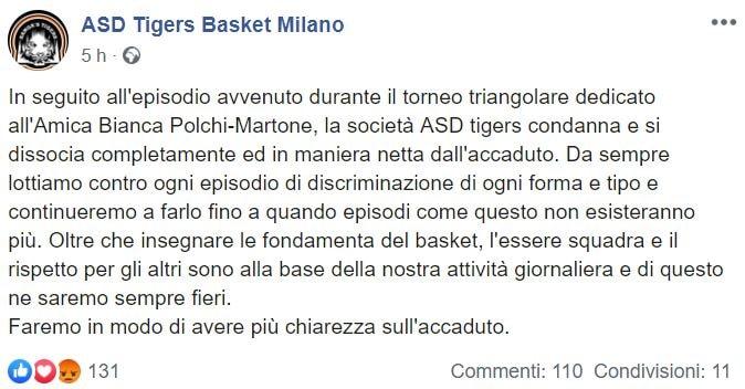 asd tigers milano