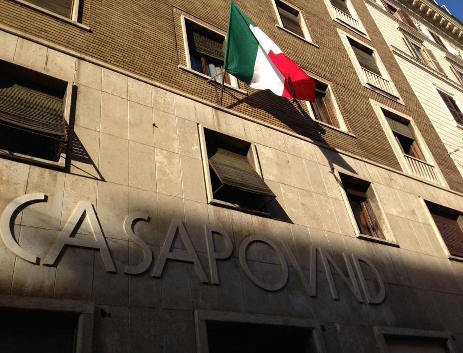 Il ricorso di Casapound sullo sfratto di via Napoleone III r