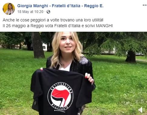 giorgia manghi reggio emilia antifascista - 1