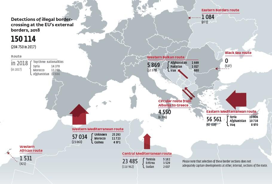 migranti slovenia trieste balcani salvini - 1