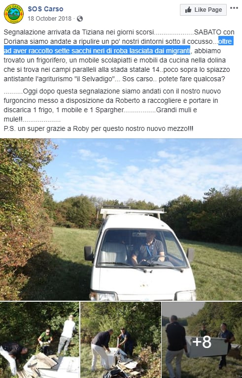 migranti slovenia trieste balcani salvini - 2