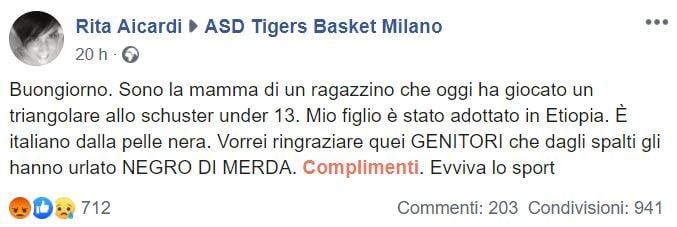 rita aicarti asd tigers basket milano