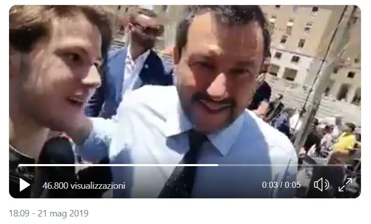salvini selfie terroni
