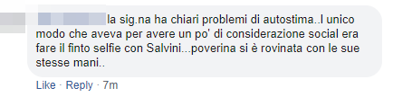 valentina salvini salerno insulti - 2