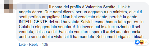 valentina salvini salerno insulti - 6