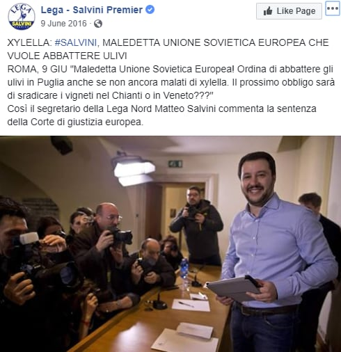 xylella salvini unione sovietica europea - 5