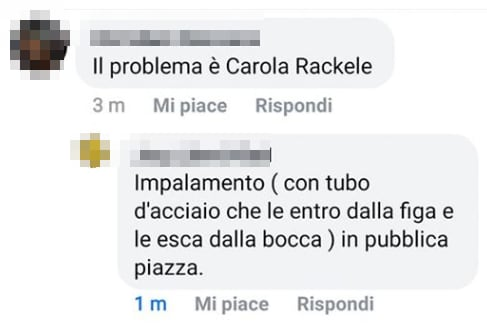 Carola Rackete sea watch insulti - 1