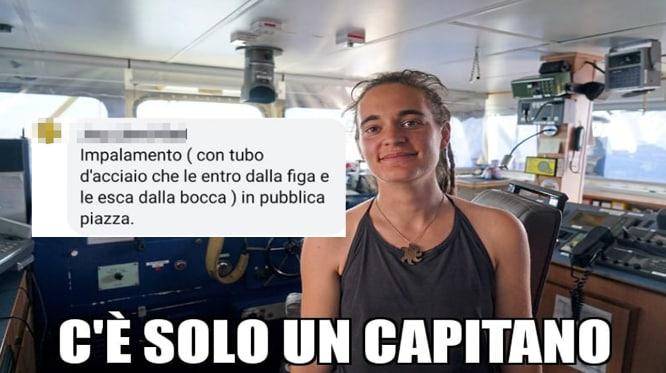 Carola Rackete sea watch insulti - 9b