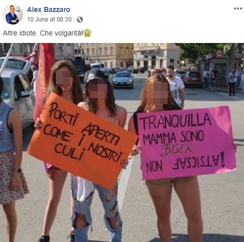 alex bazzaro pride gogna pini - 5