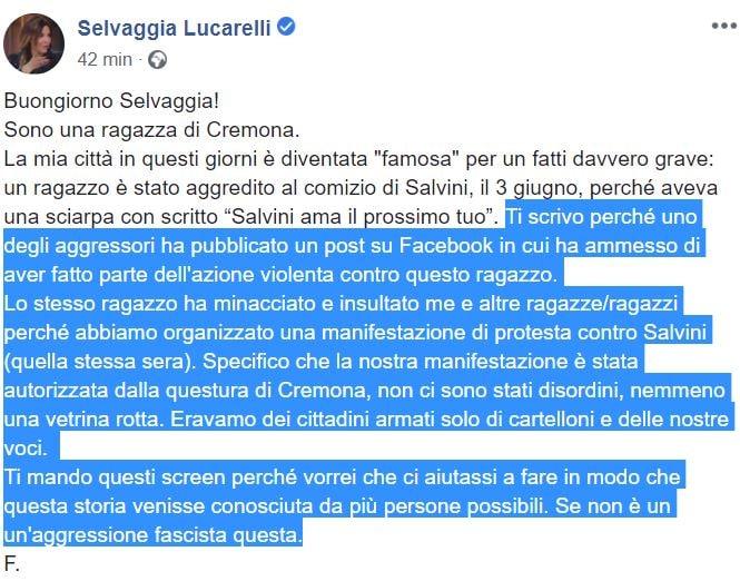 Salvini smentisce: