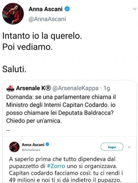 luca telese arsenale k tank different blocco twitter - 6
