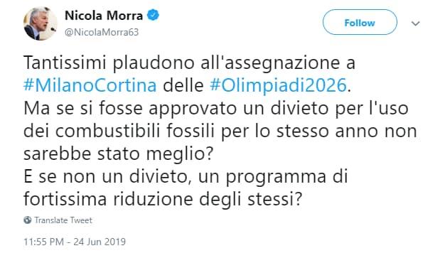 nicola morra olimpiadi - 1