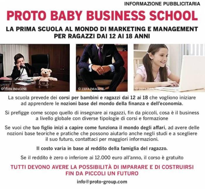 proto business baby school