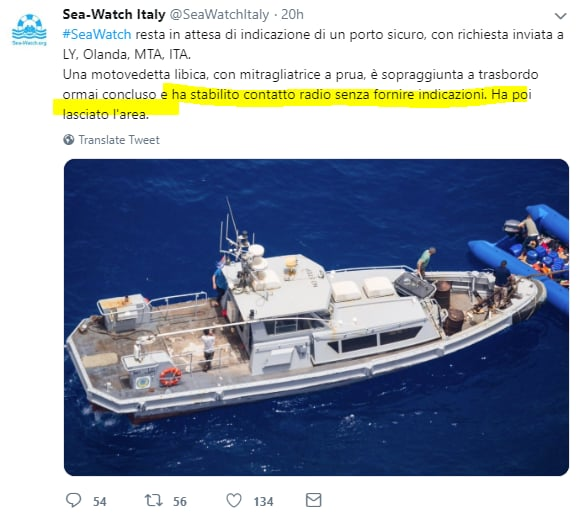 salvini sea watch vite migranti ong libia - 6