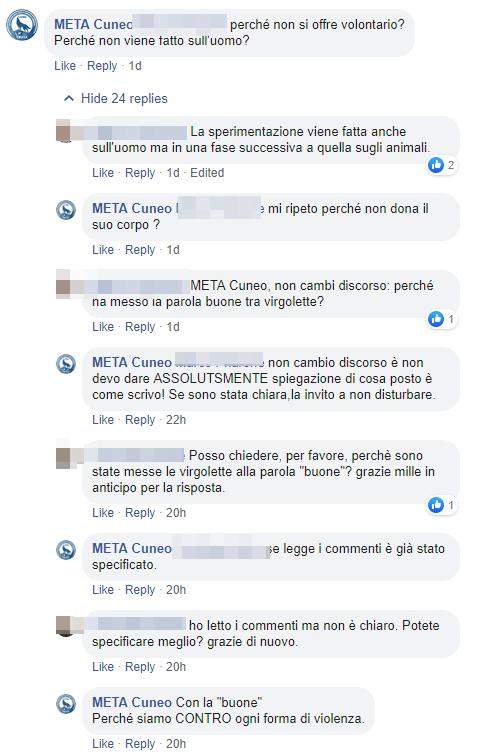 tamietto macachi torino meta animalisti insulti - 3