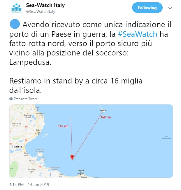 travaglio sea watch carola rackete - 2