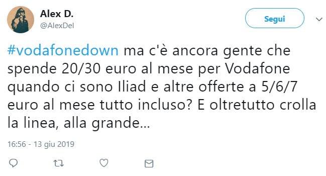 vodafone down italia 3