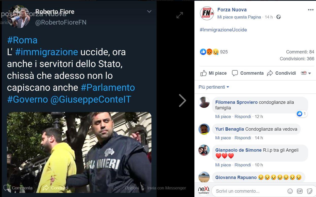 carabiniere ucciso forza nuova 1
