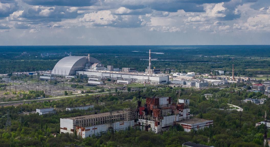 Chernobyl: inaugurato il nuovo scudo protettivo del reattore