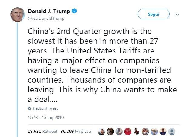 crescita economica cina