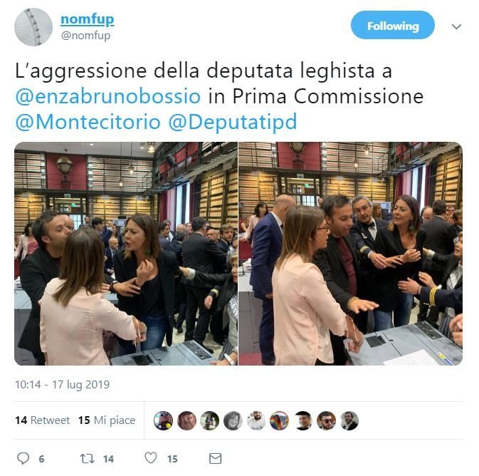 Businarolo discriminata perché incinta, Romano: