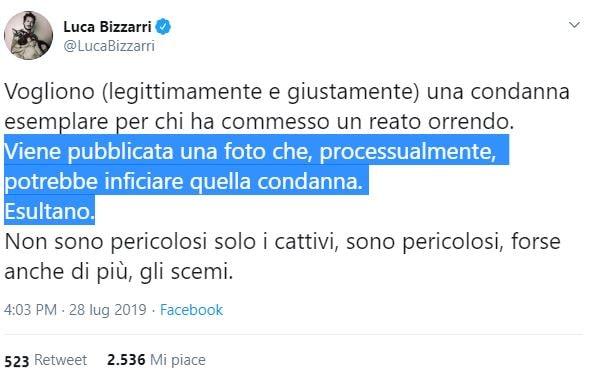 foto carabiniere ucciso americano bendato ammanettato