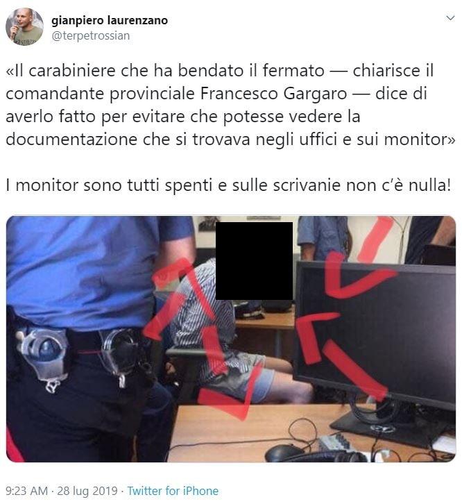 foto natale hjorth bendato carabiniere 5