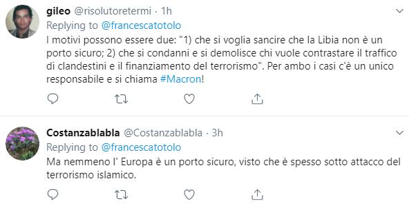 francesca totolo complotto bombardamento centro detenzione migranti - 6