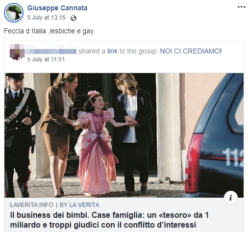 giuseppe cannata insulti gay - 7
