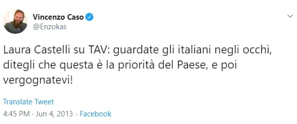 laura castelli tav parlamento - 1