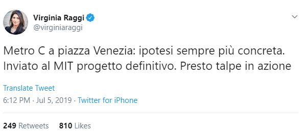metro c piazza venezia raggi - 1