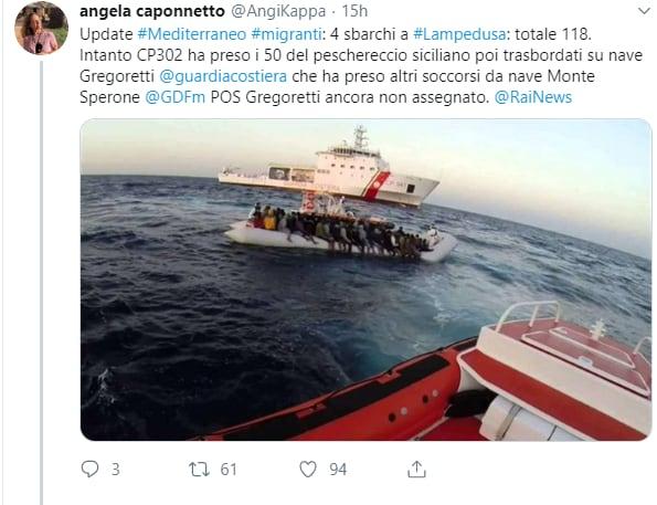 nave gregoretti salvini porto chiuso guardia costiera - 2