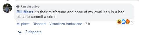 omicidio carabiniere cosa dicono in america 4