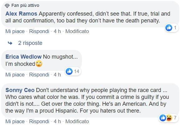 omicidio carabiniere cosa dicono in america 7