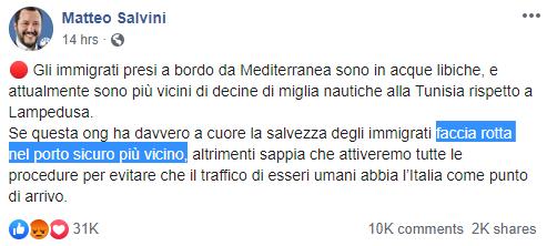 ong mediterranea alex salvini lampedusa - 4