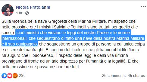 salvini decreto sicurezza gregoretti - 3