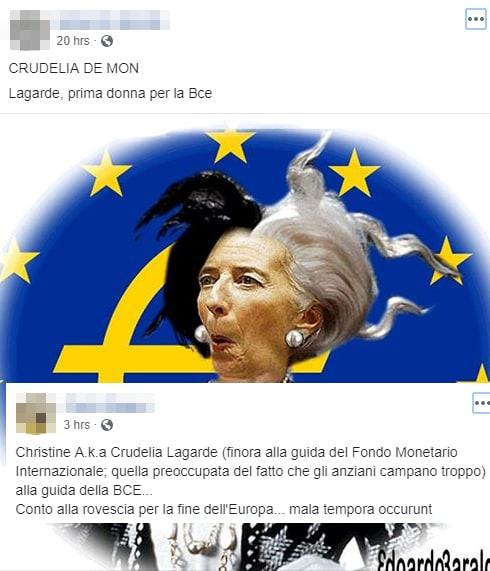 salvini lagarde bce banca centrale europea - 14