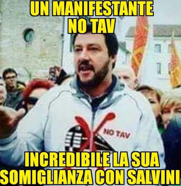 salvini no tav lega - 2