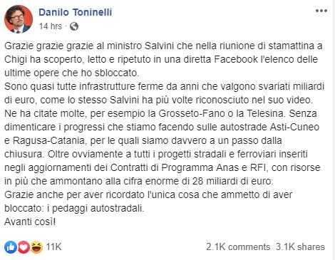 L'Italia dice